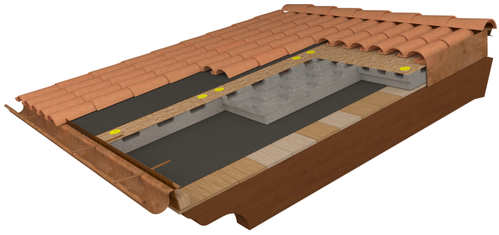 tetto ventilato stratigrafia